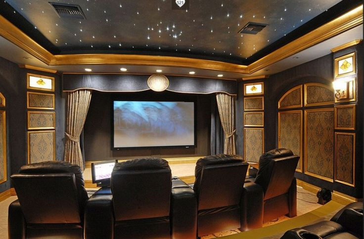 Decorating Home Theater Room ~ Http://modtopiastudio.com/how To