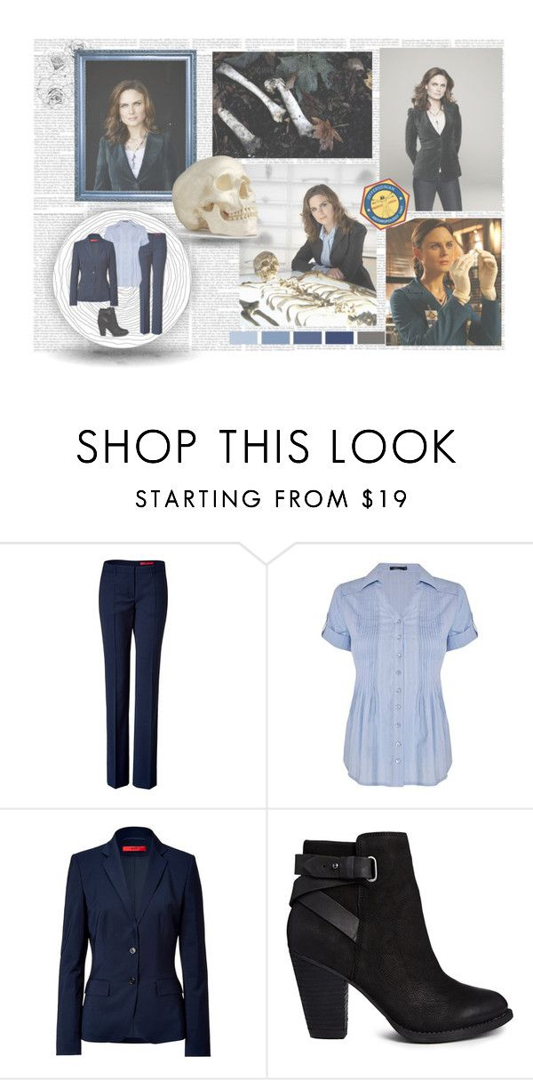 """""""- Temperance Brennan -"""" by purplexlittlexbear ❤ liked on Polyvore featuring Episode, Seed Design, HUGO, Dash and ALDO"""