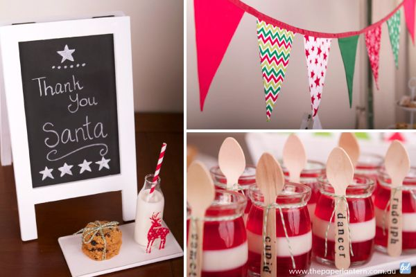 Red, White & Green Kids Christmas Decorations