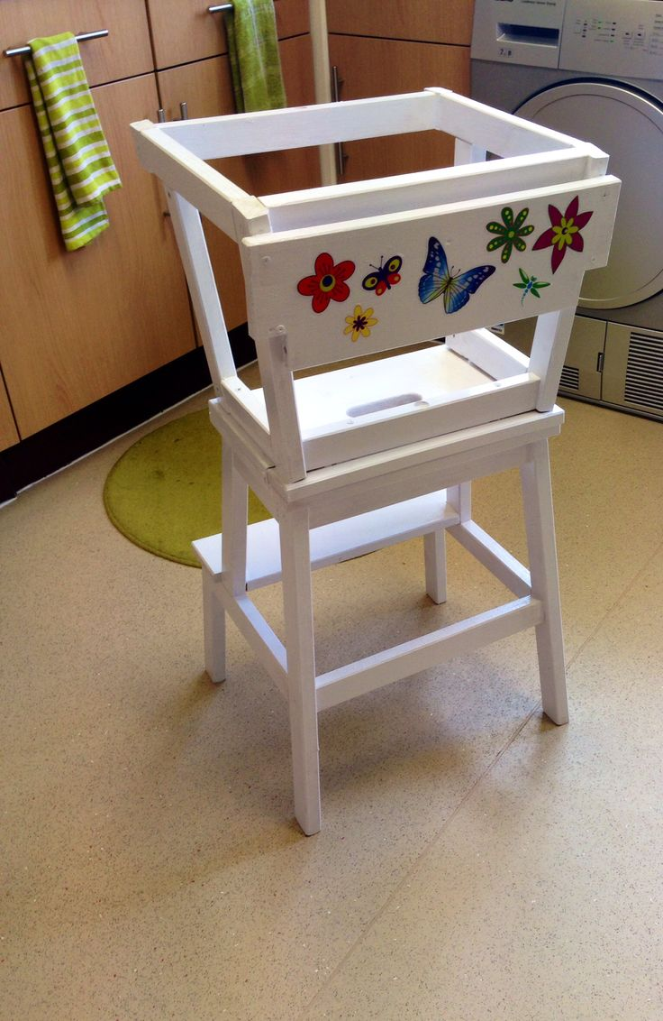 Learning Tower  IKEA Hack  Diy for kids  Learning tower