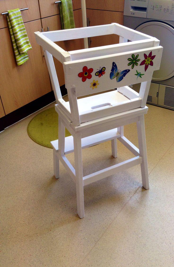 Learning Tower Ikea Hack Diy For Kids Pinterest