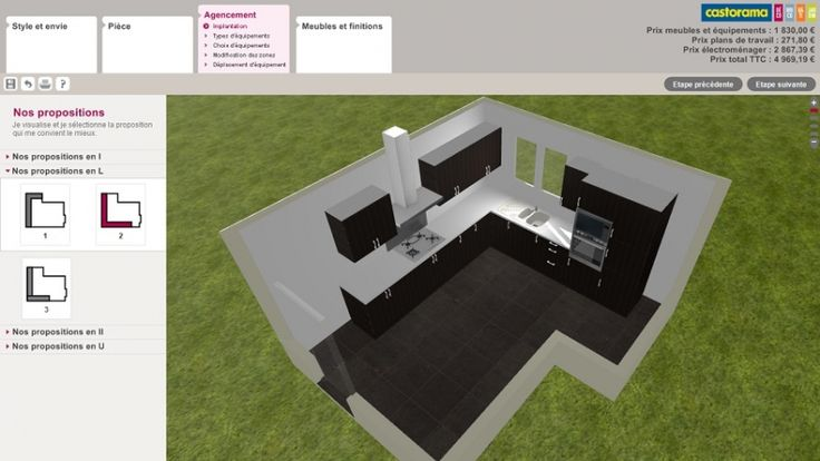Castorama 3d Cuisine 118tel Throughout 20 Satisfaisant Collection De Castorama Cuisine 3d