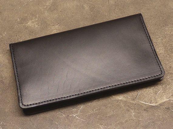 Cubierta de libro negro Horween Check - lado lacrimógeno edición
