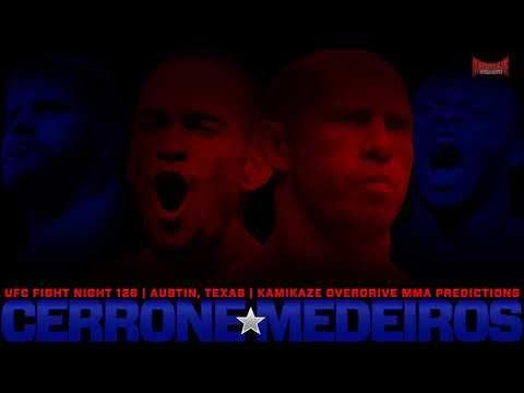 UFC Fight Night 126 Cerrone vs Medeiros Predictions Kamikaze Overdrive MMA