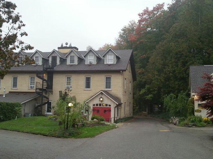 Woollen mill building at Benmiller inn