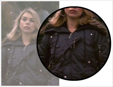 Rose Tyler's wardrobe. Gives the brands.