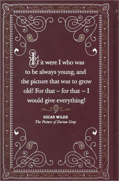 """The Picture of Dorian Gray"", the back cover of the book, By Oscar Wilde."