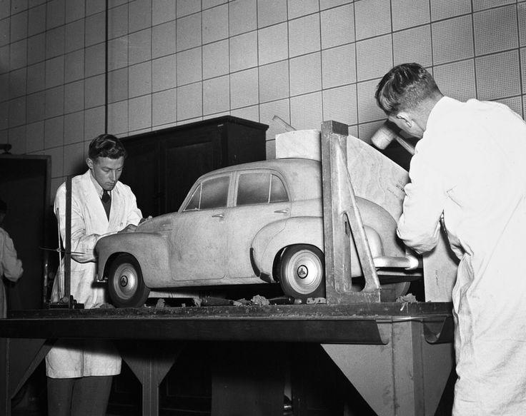 OG | 1948 Holden FX | Scale clay model dated 1946