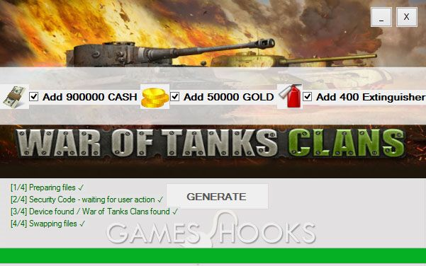 War of Tanks Clans Hack / MOD / CHEAT/ no survey/ Download