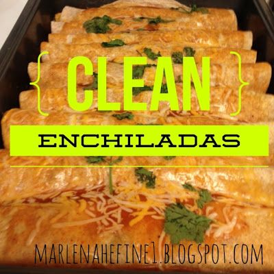 Clean Mexican food. These really taste awesome. Making this for dinner tonight.