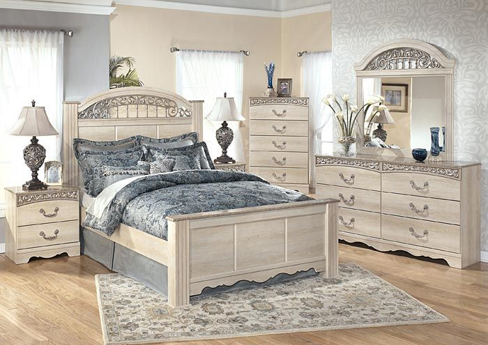 Austin's Couch Potatoes | Furniture Stores Austin, Texas Catalina Queen Poster Bed, Dresser & Mirror