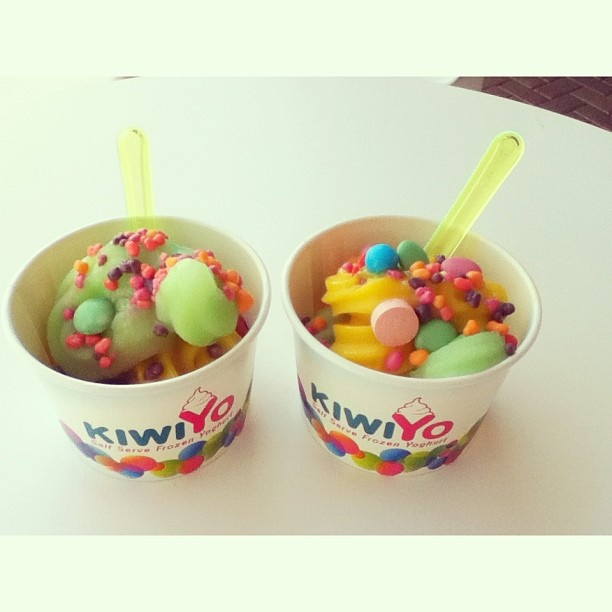 Instagram photo by @nataaliehunt (Natalie Hunt) | KiwiYo Self Serve Frozen Yoghurt www.fb.com/kiwiyonz  | www.kiwiyo.co.nz #kiwiyo #froyo