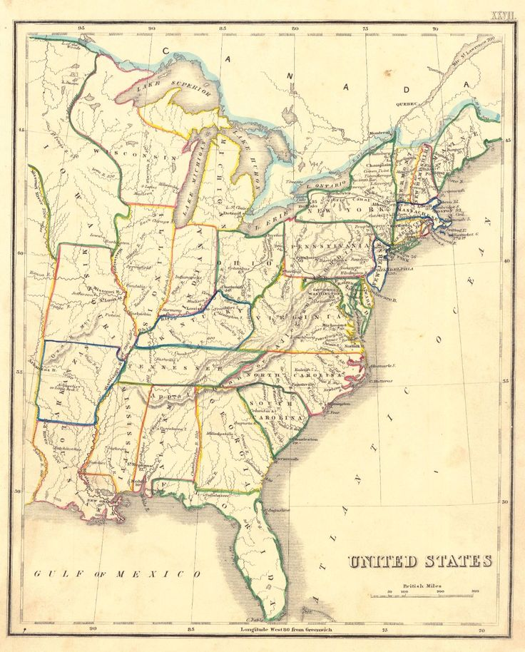 Best United States Pre Images On Pinterest United States - Us map 1850