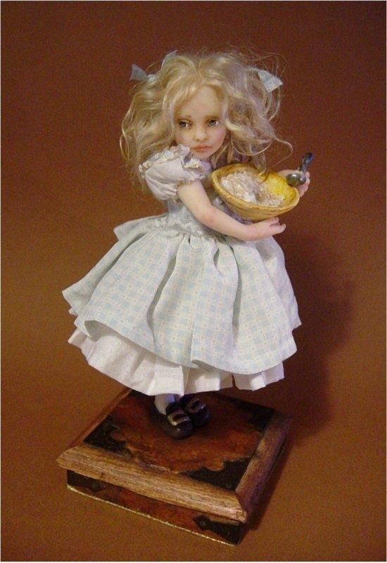 Goldilocks- Joanna Thomas doll: Goldilocks- Joanna Thomas doll