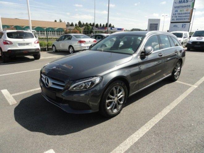 Mercedes C 220 CDI ESTATE en Lugo acabado AVANTGARDE del año 2014 con solo 27.400 kms, navegador, etc... por 37.900 € www.buscocoches.es @cochessegundamano
