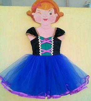 ANA TUTU dress  princess dress for birthday by loverdoversclothing, $58.00