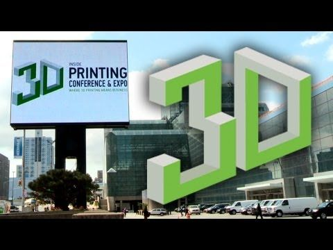 Inside 3D Printing Conference & Expo Berlin