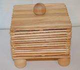 How to Make a Box Using Craft Sticks  By Sherri Osborn, About.com Guide