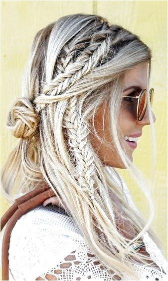 French braids boxer braids fishtail braids these are what style ladies are goin…