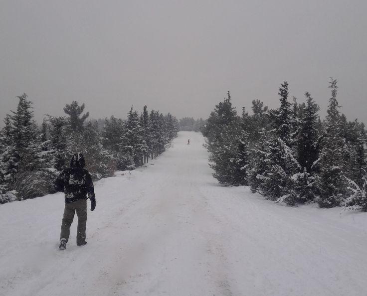 Greek χιονιάς XVII