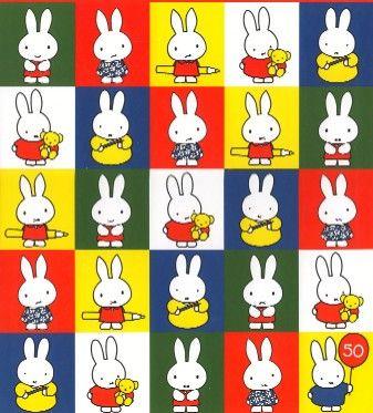 Love Nijntje (Miffy)!