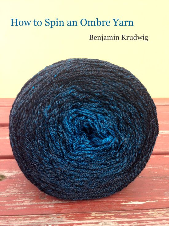 Benjamin Teaches us how to blend and spin an #ombre yarn. http://blog.schachtspindle.com/2014/11/how-to-spin-ombre-yarn.html