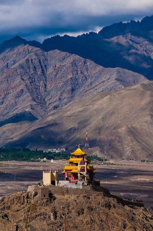 The Zangdok Pelri Temple, Jammu and Kashmir State, India.