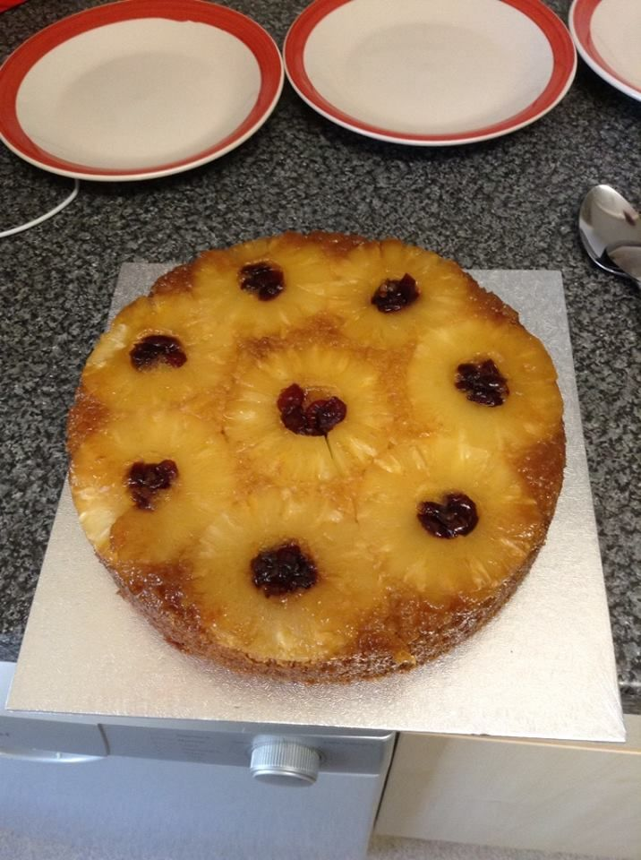 family upside down pineapple cake mmm