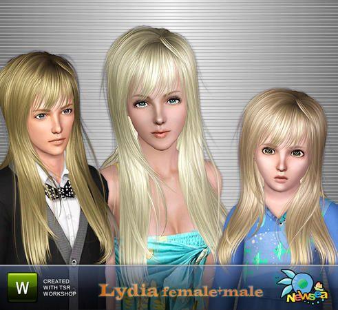 Newsea Lydia Female+Male Hairstyle