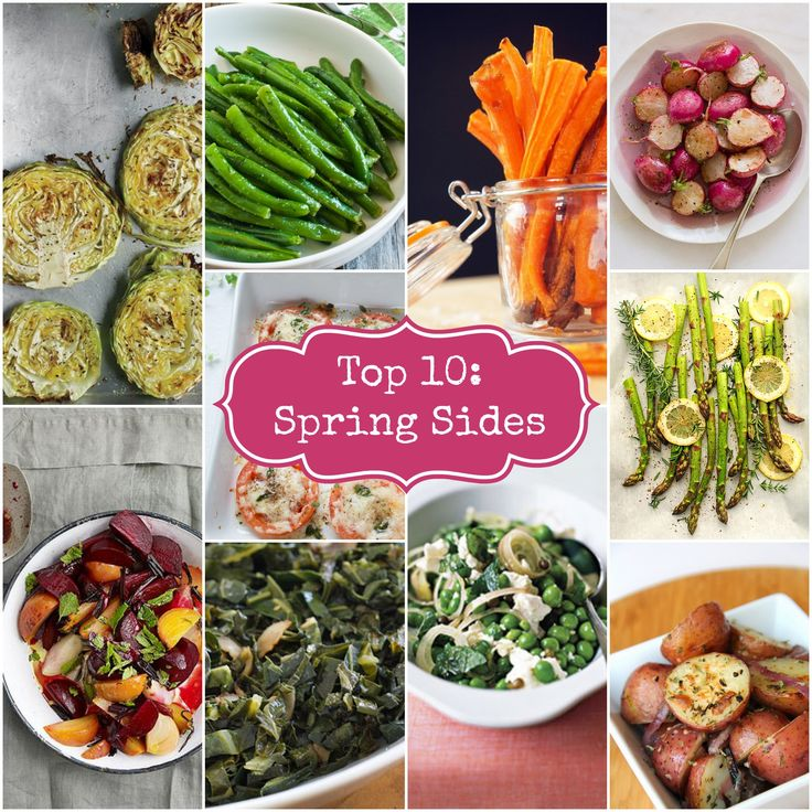 Top 10 Spring Sides