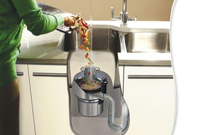 Tritarifiuti, integrato sotto il lavello della cucina - Cose di Casa