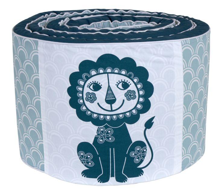 Økologisk Sengerand med løve – Soulmate Lion fra RoomMate. Tinga Tango Designbutik