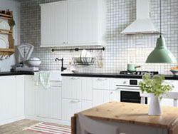 Traditional IKEA kitchen