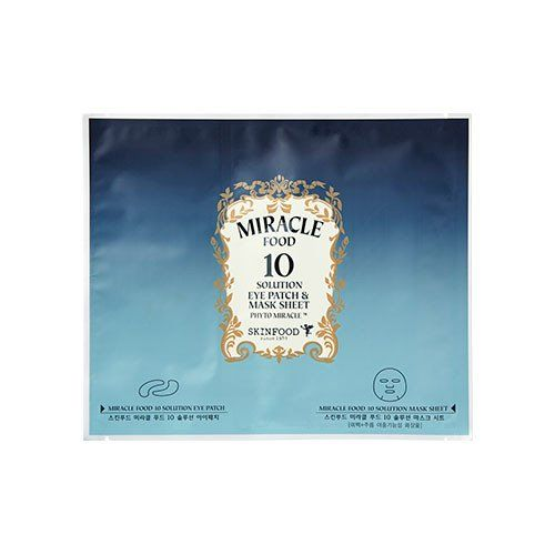 [SKINFOOD] Miracle Food 10 Solution Eye Patch & Mask Sheet (1EA)
