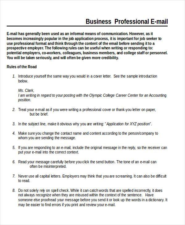 25+ melhores ideias de Business letter format example no Pinterest - sample professional business letter