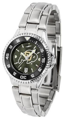 University of Colorado Buffaloes Ladies Watch Stainless Steel Wristwatch