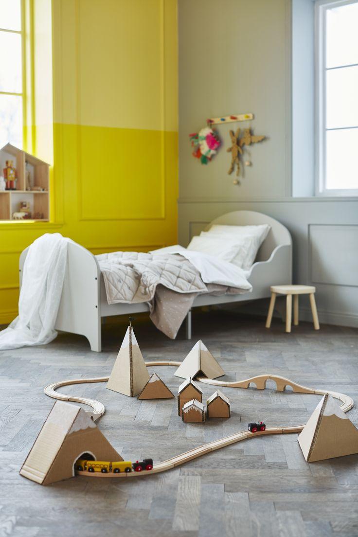 LILLABO Treinset | IKEA IKEAnl IKEAnederland inspiratie wooninspiratie hout houten trein treinset spelen speelgoed knutselen cadeau cadeautje kado tip