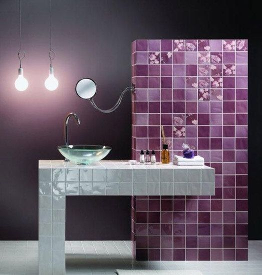 modern bathroom tile designs in one color shades are one of timeless stylish and sophisticated interior design trends 2012