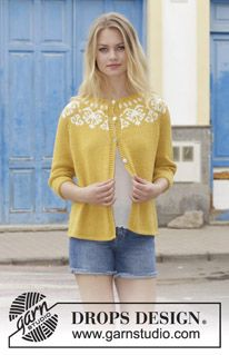 a497b1938 Golden Heart Jacket - Knitted jacket with round yoke