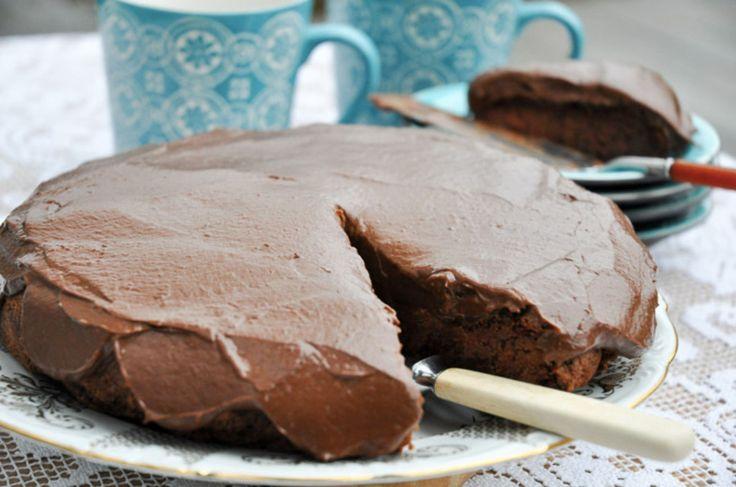 <b>BØNNER OG AVOCADO:</b> Sunn og ikke minst god sjokoladekake som alle kan spise. Foto: JARTRUD HØSTMÆLINGEN
