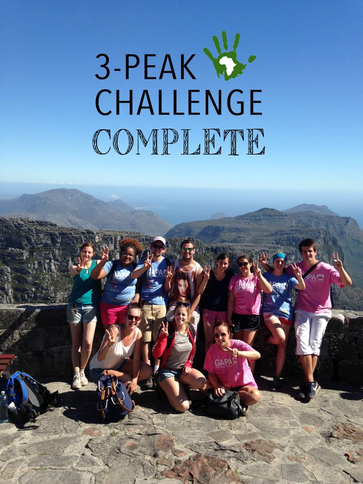 On October 11th, volunteers from our partners at African Impact - Cape Town along with various other friends and supporters braved the city's three-peak challenge and tackled hiking Devil's Peak, Table Mountain and Lion's Head all in ONE day!
