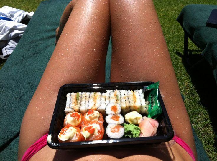 Wearing Sushi all day long
