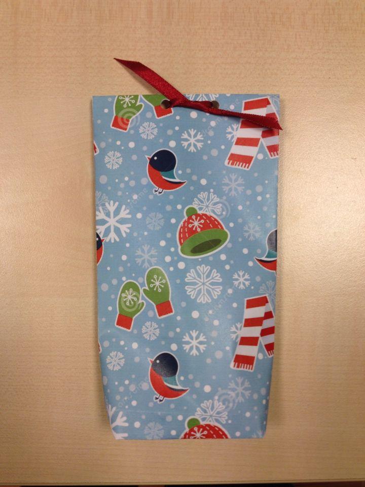 Diy christmag bag