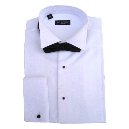 """From 29.95 100% Cotton Stud Front Marcella Wing Collar Shirt 16.5"""""""