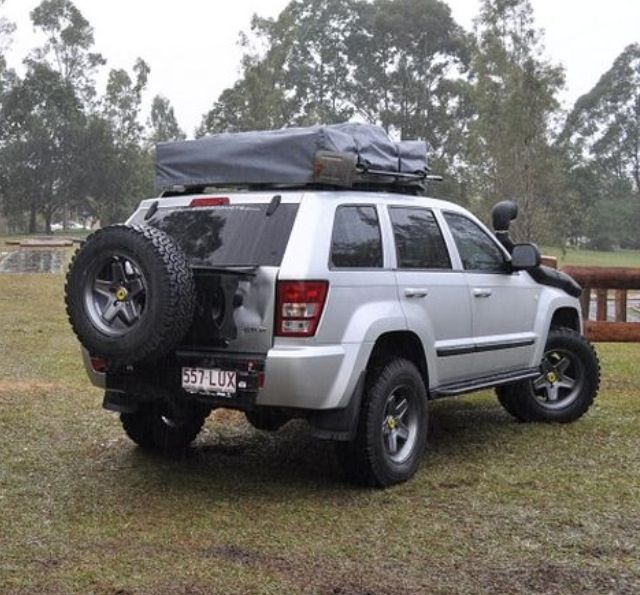 Built Jeep Grand Cherokee Wk With Roof Top Tent By Murchison