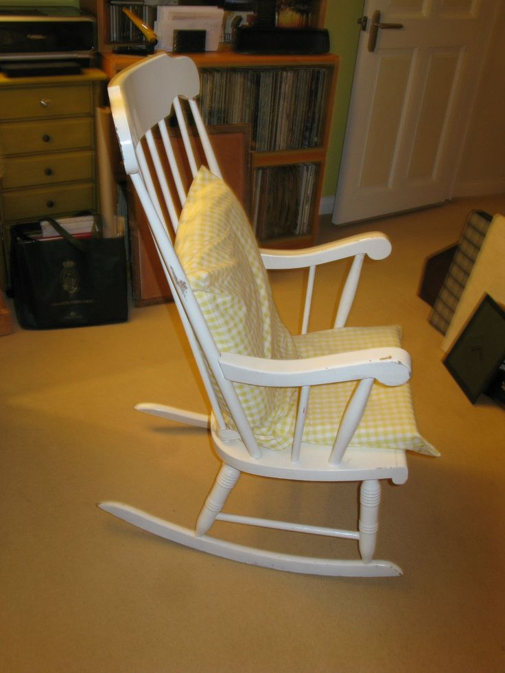 On ebay and great for now - we may not need a big nursing chair.  Goes with French theme.