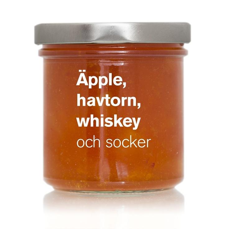 Äpple, havtorn, whiskey (TC 03) via ÄKTA SYLT . Click on the image to see more!