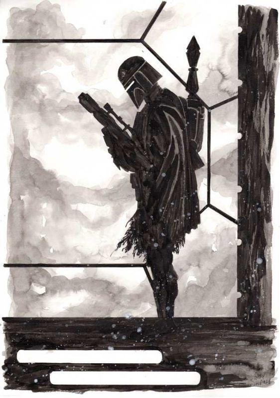 Star Wars - Boba Fett by Gary Shipman