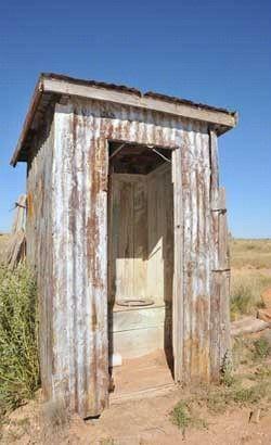 The toilet...