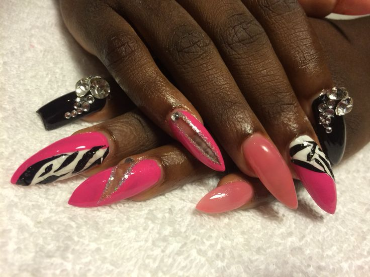 Pink black white one of my fav ones